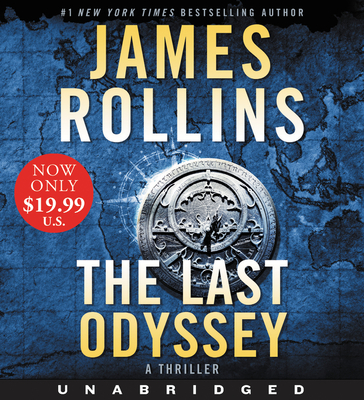 The Last Odyssey Low Price CD: A Thriller (Sigma Force Novels #15) Cover Image