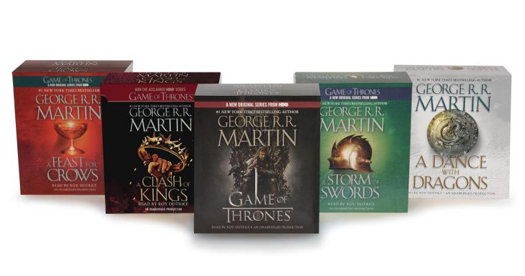 Song of Ice and Fire Audiobook Bundle Cover