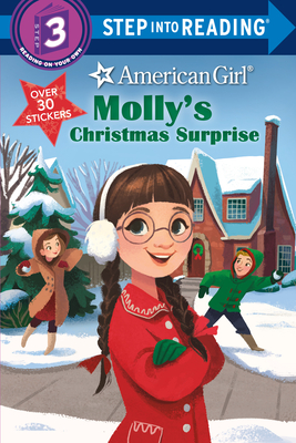 Molly's Christmas Surprise (American Girl) (Step into Reading) Cover Image