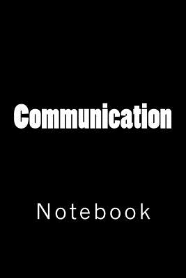Communication: Notebook Cover Image