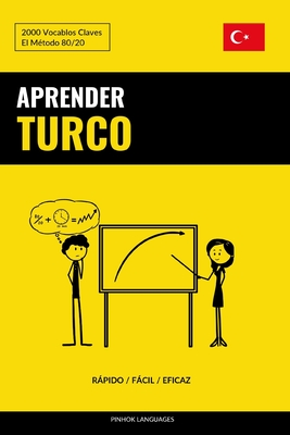 Aprender Turco - Rápido / Fácil / Eficaz: 2000 Vocablos Claves Cover Image