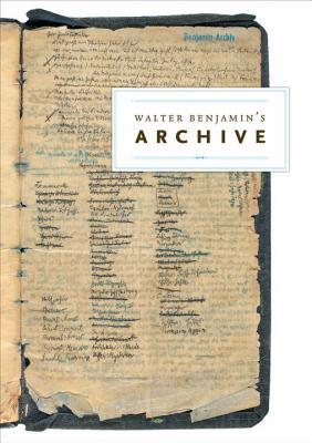 Walter Benjamin's Archive Cover