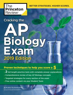 CRACKING THE AP BIOLOGY EXAM, 2019 EDITION cover image