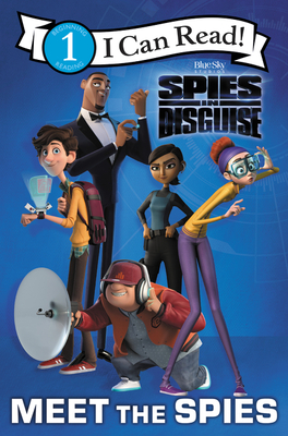 Spies in Disguise: Meet the Spies (I Can Read Level 1) Cover Image