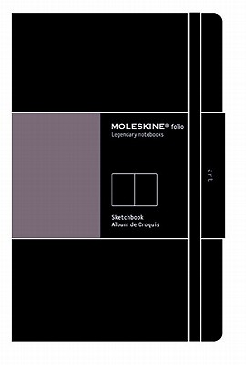 Moleskine Art Plus Sketchbook, A3, Black, Hard Cover (16.5 x 12) (Professional Folio Series) Cover Image