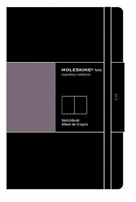 Moleskine Art Plus Sketchbook, A3, Black, Hard Cover (16.5 x 12) (Professional Folio Series) Cover Image