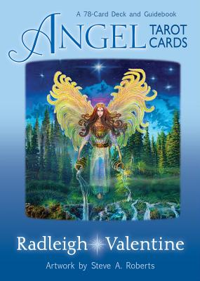 Angel Tarot Cards: A 78-Card Deck and Guidebook Cover Image