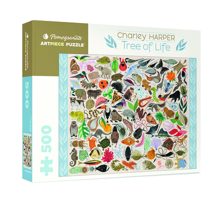 Tree of Life 500-Piece Jigsaw Puzzle (Pomegranate Artpiece Puzzle) Cover Image