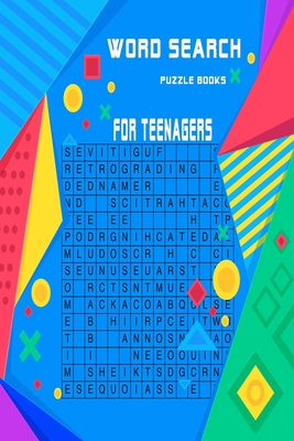 Word search puzzle books for teenagers: Very entertaining puzzles for beginners and intermediates with solutions at the end . keep you brain in shape Cover Image