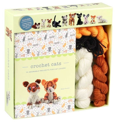 Crochet Cats: 10 Adorable Projects for Cat Lovers (Crochet Kits) Cover Image