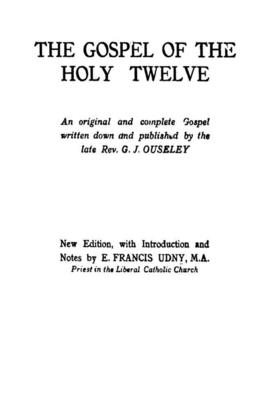 The Gospel of the Holy Twelve Cover Image