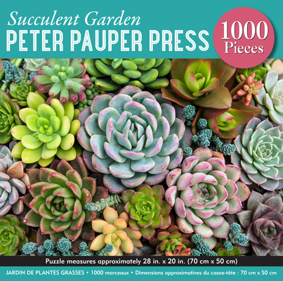 Succulent Garden 1,000 Piece Jigsaw Puzzle Cover Image