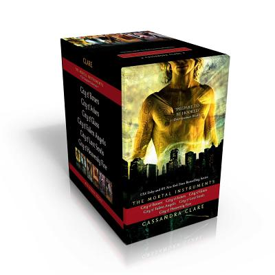 The Mortal Instruments, the Complete Collection: City of Bones; City of Ashes; City of Glass; City of Fallen Angels; City of Lost Souls; City of Heavenly Fire Cover Image