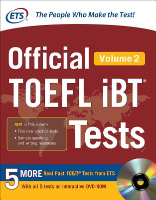 Official TOEFL Ibt(r) Tests Volume 2 Cover Image