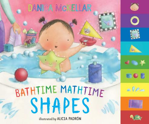 Bathtime Mathtime: Shapes (McKellar Math) Cover Image