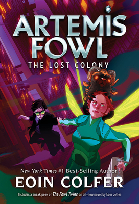 The Lost Colony (Artemis Fowl, Book 5) Cover Image