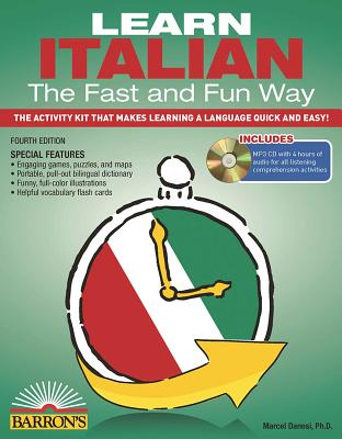 Learn Italian the Fast and Fun Way with Online Audio (Barron's Fast and Fun Foreign Languages) Cover Image