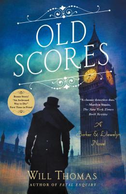 Old Scores: A Barker & Llewelyn Novel Cover Image