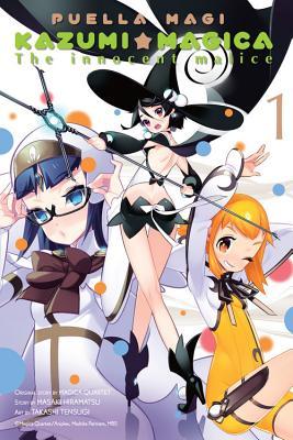 Puella Magi Kazumi Magica, Volume 1 Cover