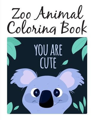 Zoo Animal Coloring Book: picture books for children ages 4-6 Cover Image