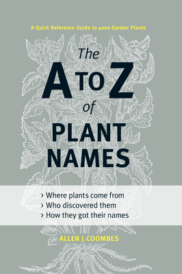 The A to Z of Plant Names Cover