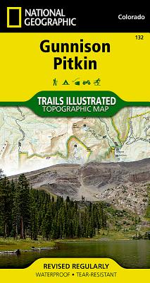 Gunnison, Pitkin (National Geographic Maps: Trails Illustrated #132) Cover Image