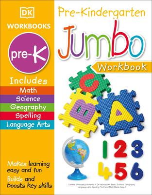 Jumbo Pre Kindergarten Workbook Cover Image