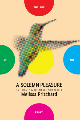 A Solemn Pleasure: To Imagine, Witness, and Write (Art of the Essay) cover