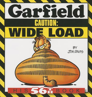 Garfield Caution Wide Load His 56th Book Paperback Book Soup