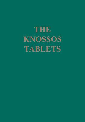 The Knossos Tablets Cover Image
