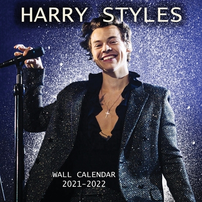 2021-2022 HARRY STYLES Wall Calendar: EXCLUSIVE Harry Styles Images (8.5x8.5 Inches Large Size) 18 Months Wall Calendar Cover Image