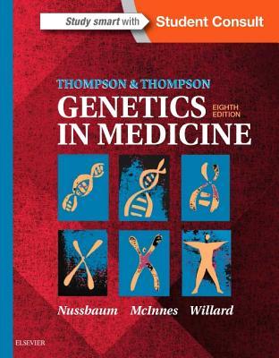 Thompson & Thompson Genetics in Medicine Cover Image