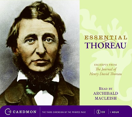 Essential Thoreau CD: Excerpts From the Journal of Henry David Thoreau Cover Image