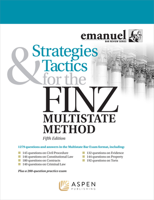 Strategies and Tactics for the Finz Multistate Method (Emanuel Bar Review) Cover Image
