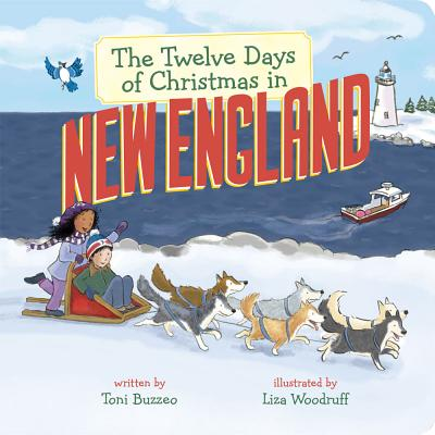 The Twelve Days of Christmas in New England (Twelve Days of Christmas in America) Cover Image