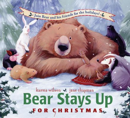 Bear Stays Up for Christmas Cover