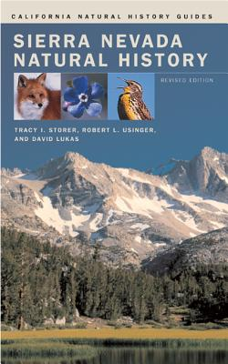 Sierra Nevada Natural History (California Natural History Guides #73) Cover Image