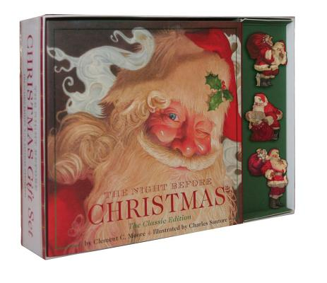 Night Before Christmas Gift Set: The Classic Edition with Keepsake Ornaments Cover Image