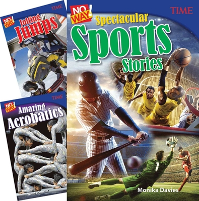 Time No Way! Amazing Activities, 3-Book Set Cover Image