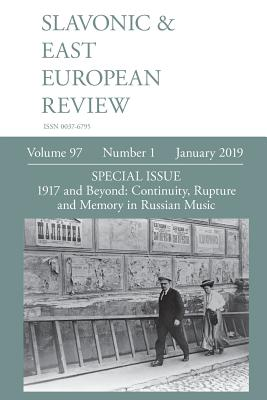 Slavonic & East European Review (97: 1) January 2019 Cover Image