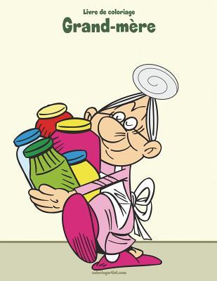 Livre de coloriage Grand-mère 1 Cover Image