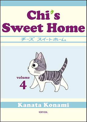 Chi's Sweet Home, Volume 4 Cover