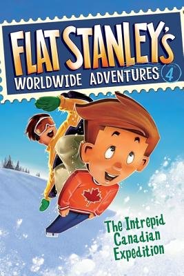 Flat Stanley's Worldwide Adventures, Book 4 Cover