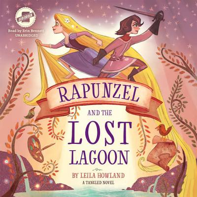 Rapunzel and the Lost Lagoon: A Tangled Novel Cover Image