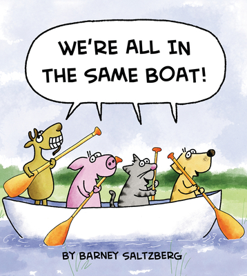Cover for We're All in the Same Boat