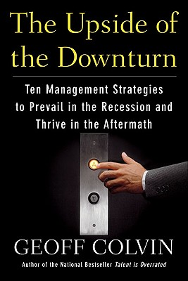 The Upside of the Downturn Cover