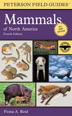 Peterson Field Guide to Mammals of North America Cover Image