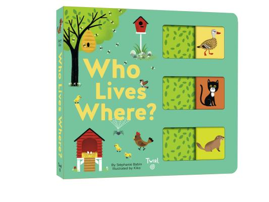 Who Lives Where?: A Slide-and-Learn Book Cover Image