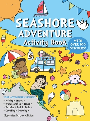 Seashore Adventure Activity Book Cover Image