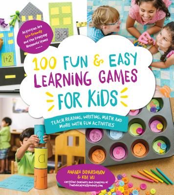 100 Fun & Easy Learning Games for Kids Cover